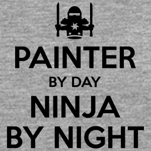 painter day ninja by night - Men's Premium Longsleeve Shirt