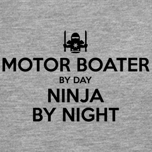 motor boater day ninja by night - Men's Premium Longsleeve Shirt