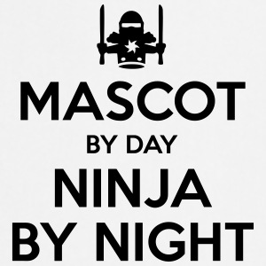 mascot day ninja by night - Cooking Apron
