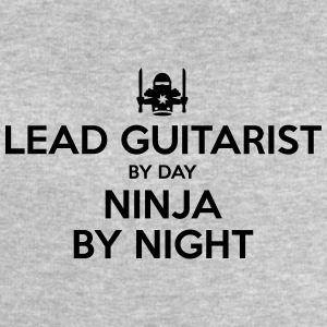lead guitarist day ninja by night - Men's Sweatshirt by Stanley & Stella