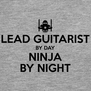 lead guitarist day ninja by night - Men's Premium Longsleeve Shirt