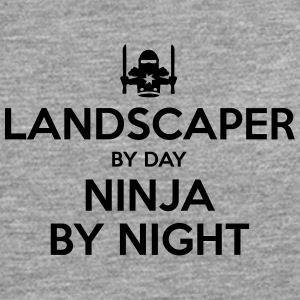landscaper day ninja by night - Men's Premium Longsleeve Shirt