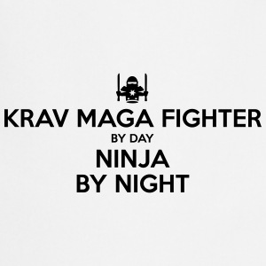 krav maga fighter day ninja by night - Cooking Apron