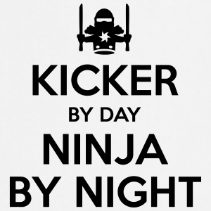 kicker day ninja by night - Cooking Apron