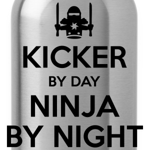 kicker day ninja by night - Water Bottle