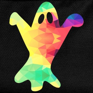 Colorful ghost - Kids' Backpack