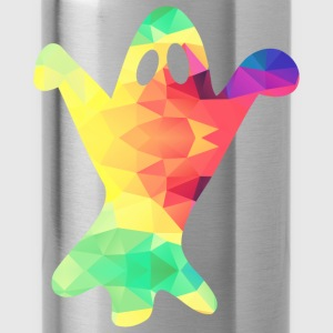 Colorful ghost - Water Bottle