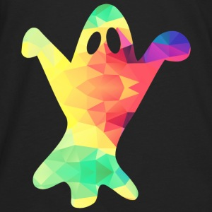 Colorful ghost - Men's Premium Longsleeve Shirt