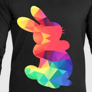Colorful Bunny - Men's Sweatshirt by Stanley & Stella