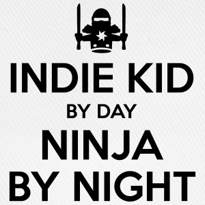 indie kid day ninja by night - Baseball Cap