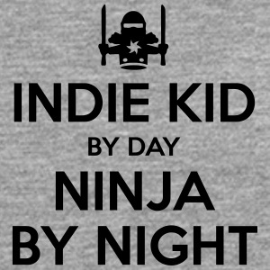 indie kid day ninja by night - Men's Premium Longsleeve Shirt