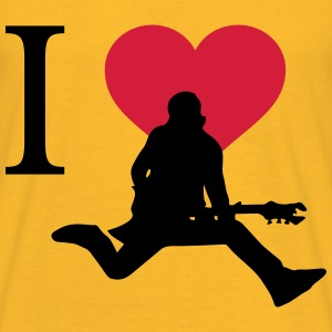 I Love Rock - Männer T-Shirt