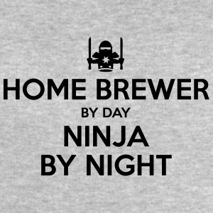 home brewer day ninja by night - Men's Sweatshirt by Stanley & Stella