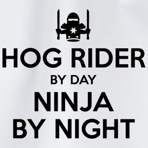 hog rider day ninja by night - Drawstring Bag