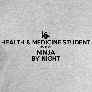 health  medicine student day ninja by ni - Men's Sweatshirt by Stanley & Stella