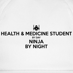 health  medicine student day ninja by ni - Baseball Cap