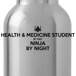 health  medicine student day ninja by ni - Water Bottle