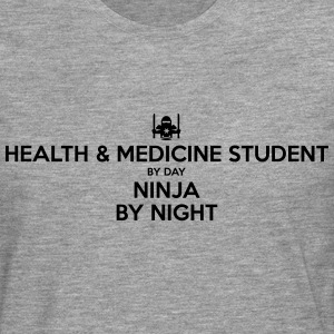 health  medicine student day ninja by ni - Men's Premium Longsleeve Shirt
