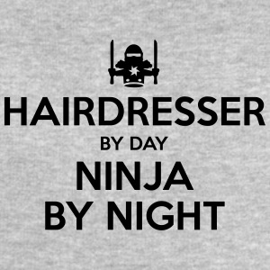 hairdresser day ninja by night - Men's Sweatshirt by Stanley & Stella