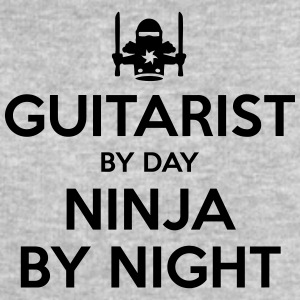 guitarist day ninja by night - Men's Sweatshirt by Stanley & Stella
