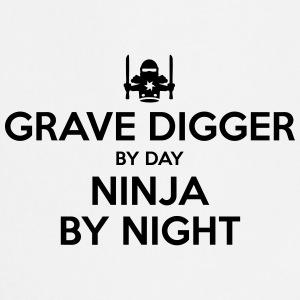 grave digger day ninja by night - Cooking Apron