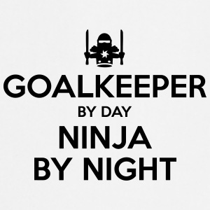 goalkeeper day ninja by night - Cooking Apron