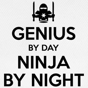 genius day ninja by night - Baseball Cap
