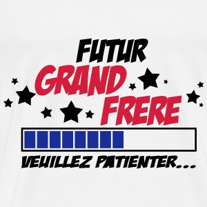 futur grand frère 2 Sweats - T-shirt Premium Homme