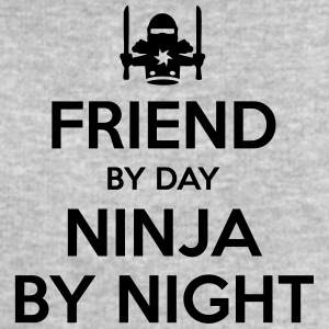 friend day ninja by night - Men's Sweatshirt by Stanley & Stella