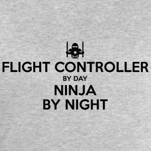 flight controller day ninja by night - Men's Sweatshirt by Stanley & Stella