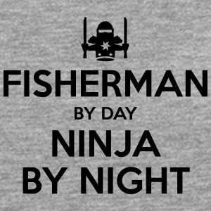fisherman day ninja by night - Men's Premium Longsleeve Shirt