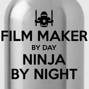 film maker day ninja by night - Water Bottle