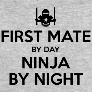 first mate day ninja by night - Men's Sweatshirt by Stanley & Stella