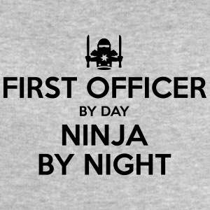 first officer day ninja by night - Men's Sweatshirt by Stanley & Stella