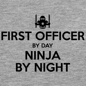 first officer day ninja by night - Men's Premium Longsleeve Shirt