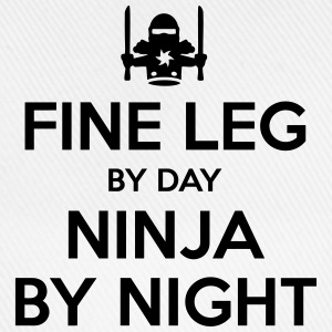 fine leg day ninja by night - Baseball Cap