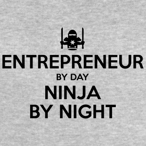 entrepreneur day ninja by night - Men's Sweatshirt by Stanley & Stella