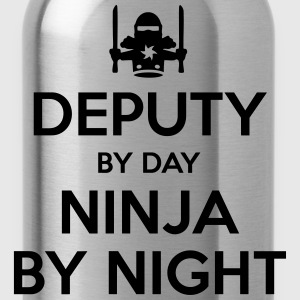 deputy day ninja by night - Water Bottle