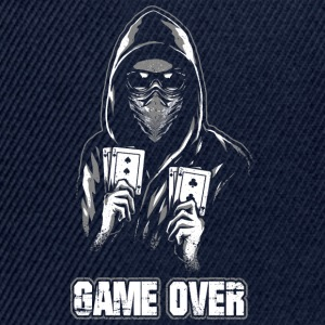 ACAB - GAME OVER Pullover & Hoodies - Snapback Cap