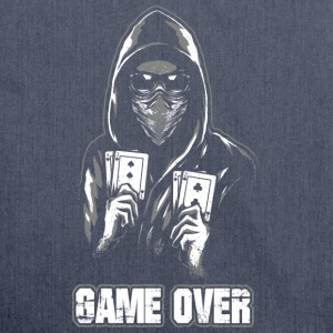 ACAB - GAME OVER Pullover & Hoodies - Schultertasche aus Recycling-Material