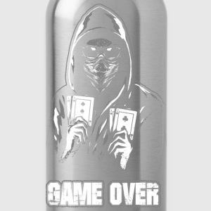 ACAB - GAME OVER Pullover & Hoodies - Trinkflasche