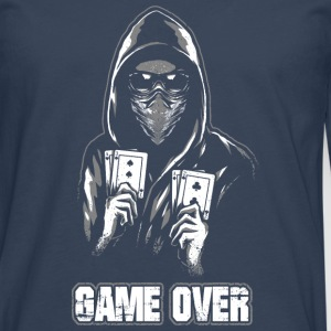 ACAB - GAME OVER Tee shirts - T-shirt manches longues Premium Homme