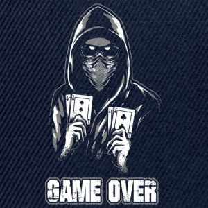 ACAB - GAME OVER Shirts met lange mouwen - Snapback cap