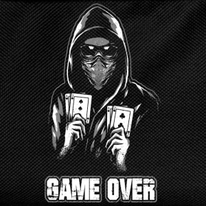 ACAB - GAME OVER Pullover & Hoodies - Kinder Rucksack