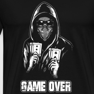 ACAB - GAME OVER Sweaters - Mannen Premium T-shirt