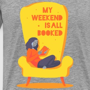 My weekend is all booked Långärmade T-shirts - Premium-T-shirt herr