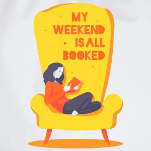 My weekend is all booked Camisetas - Mochila saco