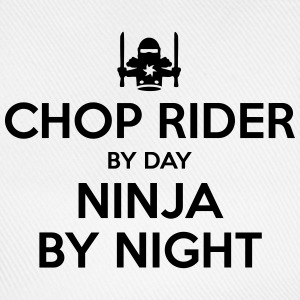 chop rider day ninja by night - Baseball Cap