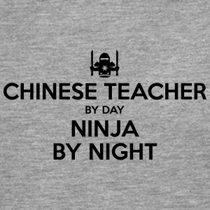 chinese teacher day ninja by night - Men's Premium Longsleeve Shirt