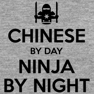 chinese day ninja by night - Men's Premium Longsleeve Shirt